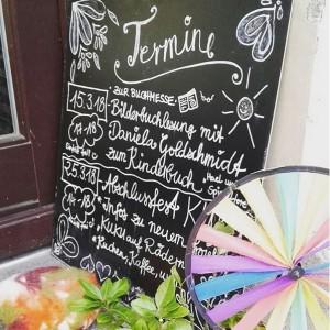 Lesung im Kunst und Kuchen Hael und die Spiegeltore Leipzig Daniela Golschmidt Lisa Rau